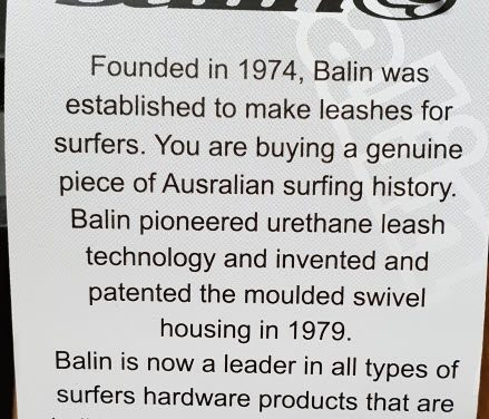 With a Balin leash you're getting the original and the best