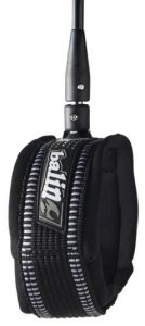 Balin Longboard / SUP leash showing Knee Strap attachment