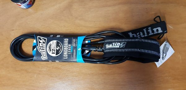 Balin 12ft Longboard Mal SUP leg rope leash Knee Version packaged up ready for you